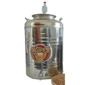 fermentatore birra inox 50 litri