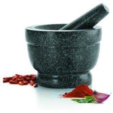 Lacor 60516 mortaio manuale di granito